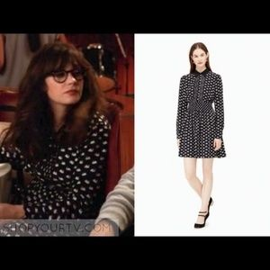 Kate Spade | Swans Shirtdress on Pointe pockets M